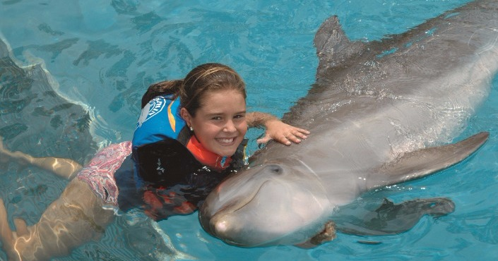 Dolphin Royal Swim en Punta Cana